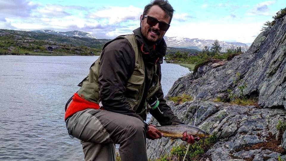 Fiskefångst Abisko
